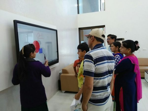 PARENTS RUSH FOR ADMISSION