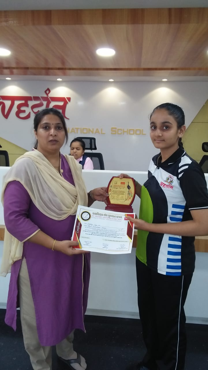 1st Prize in District  Level in Drawing Competition.