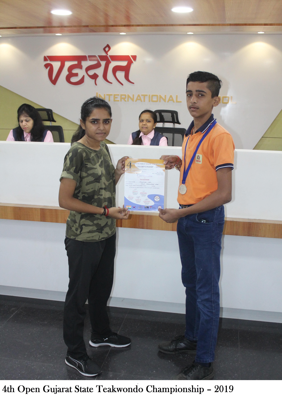 4 Open Gujarat State Teakwondo Championship – 2019